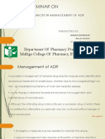 Pharmacist Role in ADR m
