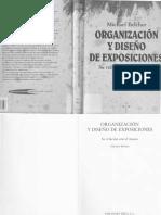 Belcher Michael - Organizacion y Diseno de Exposiciones