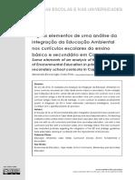 EA No Curriculo Cabo Verde - Alguns Elemetos Analise