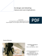 Ductile Design and Detailing – Its Importance and Cost Implications-pavan