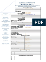 SDC Registration Form
