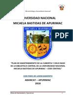 Plan de Boblioteca Central 01
