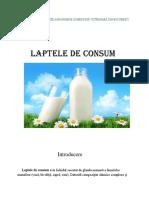 Referat Laptele de Consum