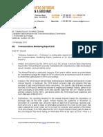 TekSavvy Letter CRTC CMR2018