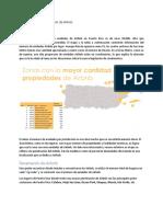 La Distribución y Penetración de Airbnb