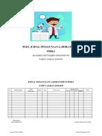 Buku Jurnal Penggunaan Laboratorium Fisika