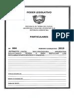 Replicar Declaraciones 002/15 y 004/16