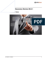 TEMS Discovery Device 20.0.1 Release Note