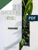 Shoden Reiki1 Programme 2018