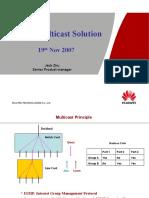Multicast in GPON 20071115