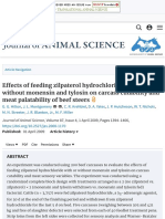 Effects of Feeding Zilpaterol Hydrochloride With and Without Monensin and Tylosin on Carcass Cutabil