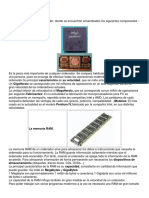 Componentes Hardware
