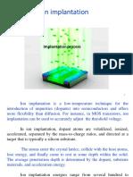 Chapter 8 Ion Implantation _ I