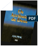 Os Atributos de Deus - A. W. Pink