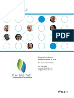 Sample DiSC Classic 2.0 Report 2014