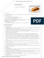 Bizcocho Esponjoso Glaseado de Limón. Manual y Thermomix