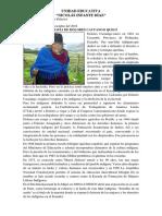 Biografía de Dolores Cacuango Quilo