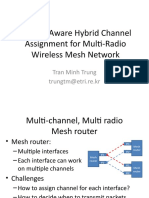 A Load Aware Hybrid Channel Assignment for Multi-Radio Wireless Mesh Network