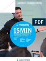 Depliant Concours ISMIN 2010 BasseDef