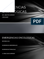 Emergencias Oncologicas