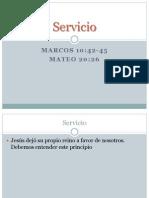 Lección N°6 - Intercesión - El servicio