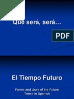Future Tense -El futuro