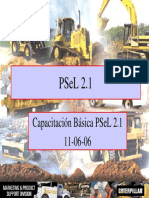 Capacitacion Basica de PSeL 2.1 - Caterpillar