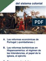 Reformas Pombaliana y Borbónica