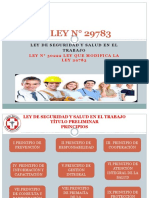 Ley 29783 Ley de Salud y Seguridad en el Trabajo