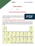 C1-2-Structure Electronique Des Molecules