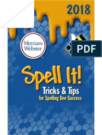 Spelling Bee Success-Tricks & Tips