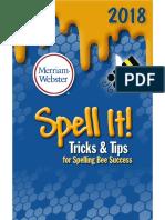 Spelling Bee Success-Tricks & Tips