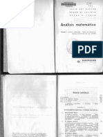 Matematicas - Rey Pastor, Julio - Análisis Matemático 1