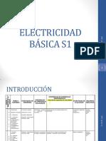 ELECTRICIDAD BÁSICA S1V2 2013