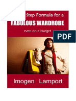 Five Step Formula for a Fabulous Wardrobe on a Budget
