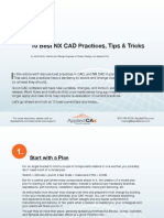 NX CAD Ten Best Practices Tips and Tricks From Applied CAx