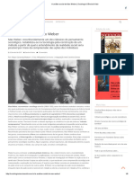A Análise Social de Max Weber _ Sociologia Ciência & Vida
