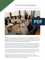 30-01-2019 Preside CPA reunión de Coordinación Regional de Seguridad - Elimparcial.com