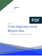 Corte Suprema vs Ricarte Soto, Observatorio Judicial
