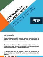 A Importancia Da Documentação Como Técnica de Estudo Pessoal