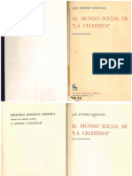 El mundo social de La Celestina / José Antonio Maravall