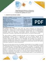 Syllabus Del Curso Etnopsicología.