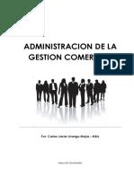 Administraciòn de La Gestiòn Comercial - Carlos Javier Arango M. - MBA