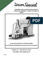 Instrucciones, Manual Del Ingeniero y Listado Ilustrado de Partes