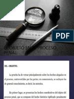 Formas de Identificar Un Objeto en Un Proceso Penal. Tema 2