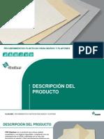 Recubrimientos Para Muros y Plafones Glasliner Gama Presentacion
