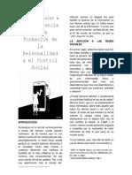 Artículo Redes Sociales
