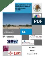 Final Report English Mesilla ConejosMedanos Study