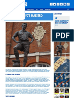 Kitbag Retro - Fulham FC's Maestro - Ashley Cox for Kitbag