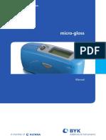 Manual - Brillometro Micro-tri-gloss BYK